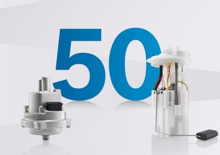 La primera bomba de inyección electrónica de Bosch cumple 50 años