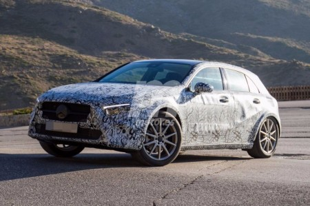 El Mercedes GLA 2020 comienza a perder camuflaje