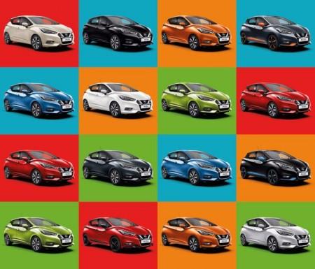 El nuevo Nissan Micra, más elegido en color negro por los clientes
