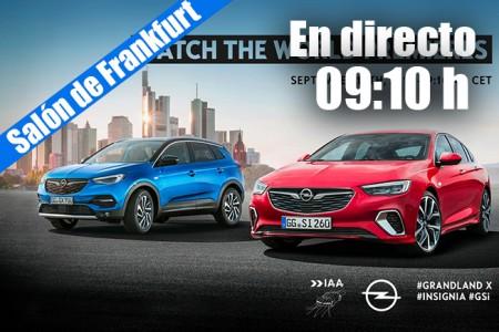 En directo: las novedades de Opel 2017 desde Frankfurt