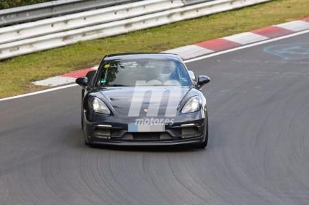 El Porsche 718 Cayman GTS ultima su desarrollo en Nürburgring