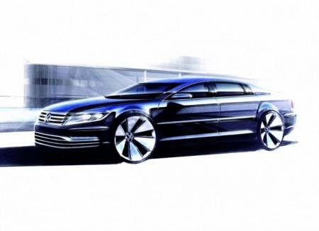 El sucesor del Volkswagen Phaeton será eléctrico y llegará en Ginebra