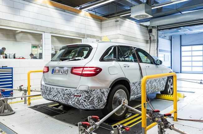 Mercedes GLC F-Cell - pruebas de desarrollo