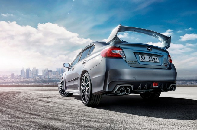 Subaru WRX STI 2018 - posterior