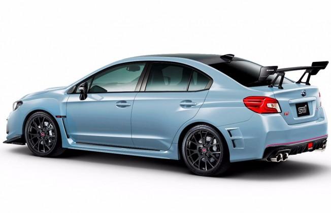 Subaru WRX STI S208 - posterior