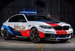 BMW M5 MotoGP Safety Car: seguridad y tecnología innovadora