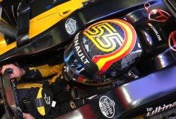 """Sainz: """"Menos en el primer sector, iba muy cómodo con el coche"""""""