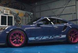 El llamativo Porsche 911 GT3 RS de ADV.1 Wheels para el SEMA 2017