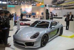 Porsche Cayman E-Volution: el Cayman más rápido es eléctrico
