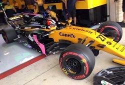 Verstappen, Hülkenberg y Hartley prueban un motor experimental de Renault