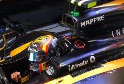 """Sainz: """"Nos retiramos por precaución, el coche se iba de lado en recta"""""""