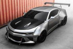 Salvaje Chevrolet Camaro Widebody de Streetfighter para el SEMA 2017