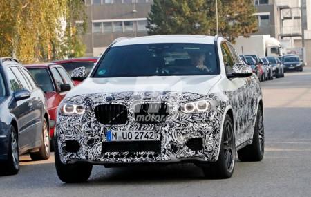 Nuevas imágenes muestran al BMW X4 M en plenas pruebas