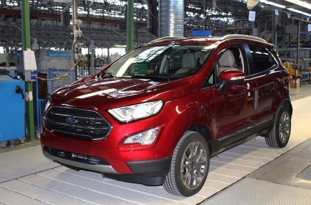 La producción del nuevo Ford EcoSport 2018 ya está en marcha