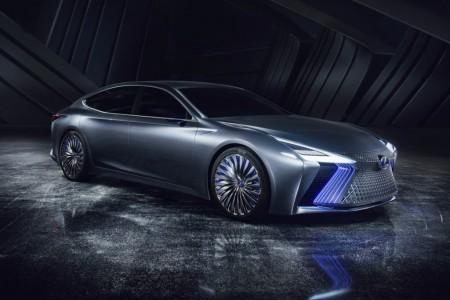 Lexus LS+ Concept, adelantando la sexta generación de la superberlina nipona