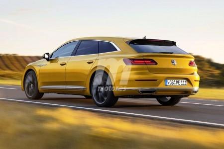 ¿Llegaremos a ver un Volkswagen Arteon Variant? Esta recreación lo anticipa