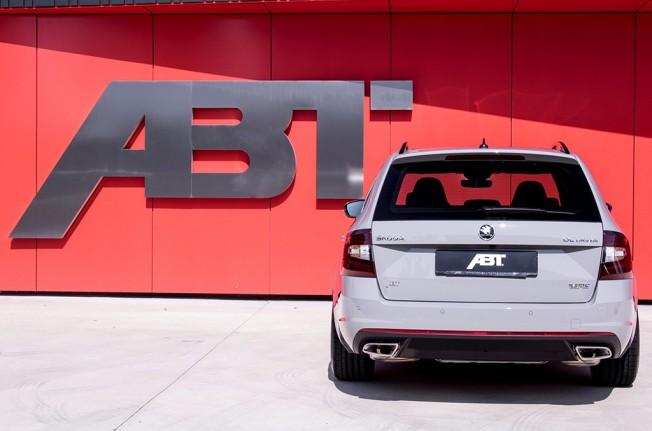 ABT Skoda Octavia Combi RS - posterior