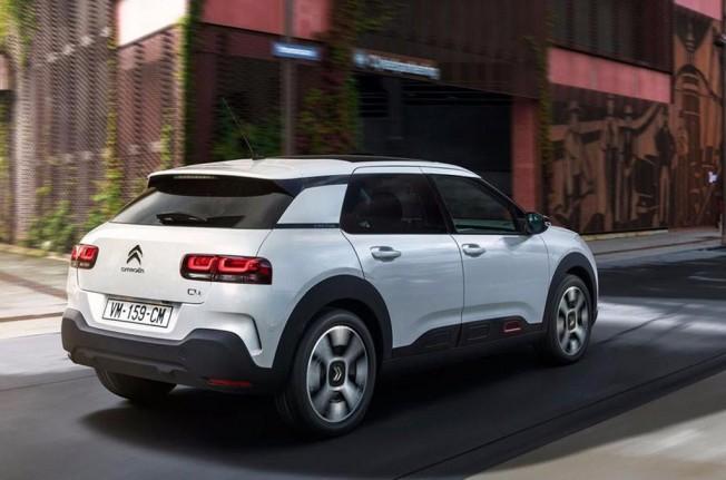 Citroën C4 Cactus 2018 - posterior