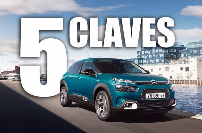 Las 5 claves del Citroën C4 Cactus 2018