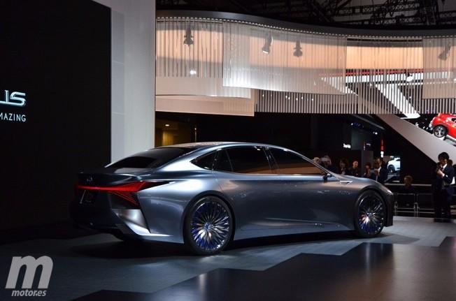 Lexus LS+ Concept - posterior