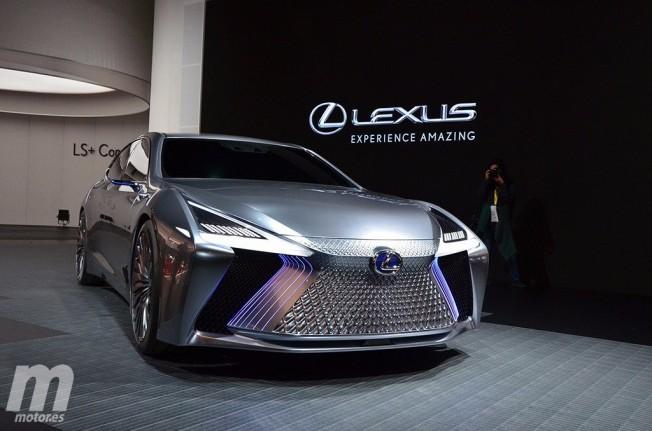 Lexus LS+ Concept - frontal