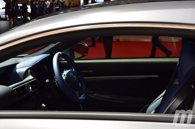 Lexus RC F 10th Anniversary - interior