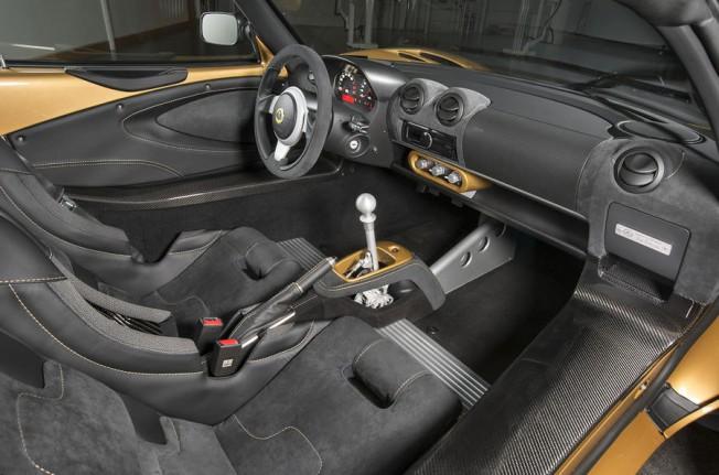 Lotus Elise Cup 260 2017 - interior
