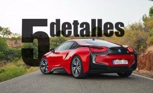 5 detalles del BMW i8 Protonic RED Edition
