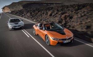 Las 10 diferencias entre el BMW i8 Roadster y el i8 Coupé