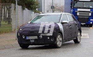 El Hyundai Kona EV comienza a perder camuflaje