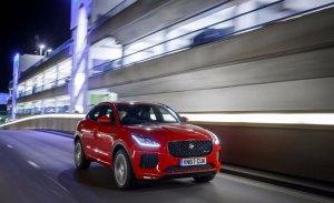 El Jaguar E-Pace logra la máxima puntuación de Euro NCAP