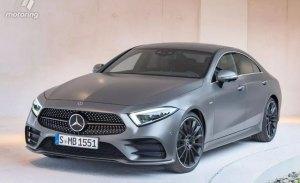 Mercedes CLS: filtrado al completo antes de su presentación