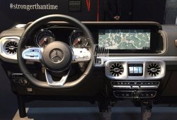 Así será el interior del Mercedes Clase G 2018, ¡filtrado!