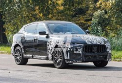 El Maserati Levante GTS cazado en Italia durante una sesión de pruebas