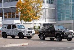 Los nuevos Mercedes Clase G y G63 AMG continúan sus pruebas cerca del cuartel general en Alemania
