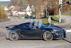 El nuevo Porsche 718 Cayman GT4 al descubierto