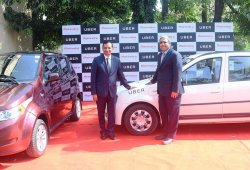 Uber se asocia con Mahindra para usar coches eléctricos en la India