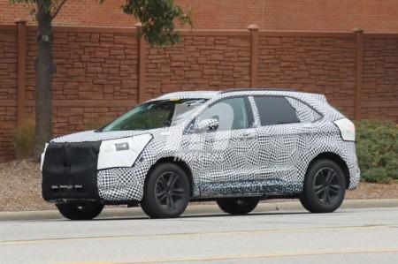 Ford continúa el desarrollo de los nuevos Edge y Lincoln MKX 2019