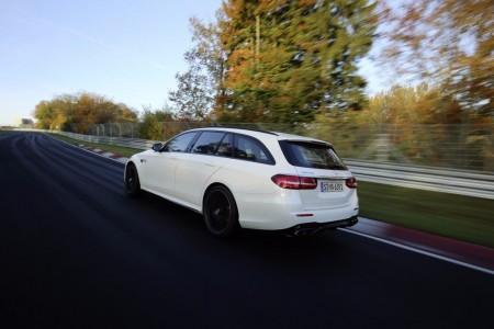 El nuevo Mercedes-AMG E 63 S 4MATIC+ Estate ya es el familiar más rápido del circuito de Nürburgring