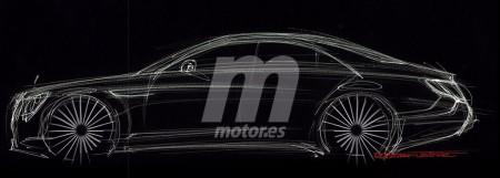Exclusiva: primer boceto del futuro Mercedes Clase S
