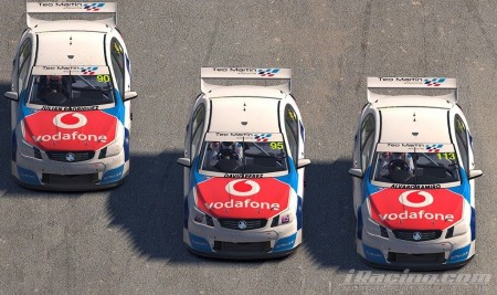 Teo Martín eSports y Vodafone unen sus fuerzas en el SimRacing