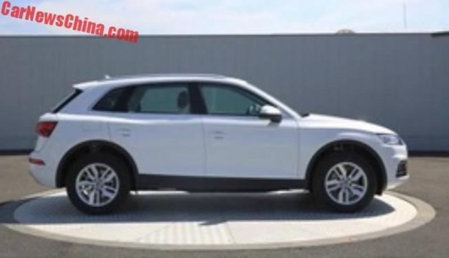 Audi Q5L - lateral
