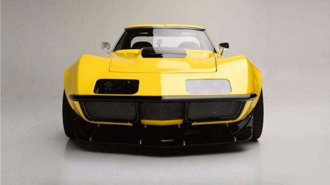 Espectacular Chevrolet Corvette 1973 Restomod De Competicin A La