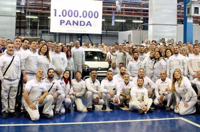 Fiat Panda - producida la unidad 1 millón