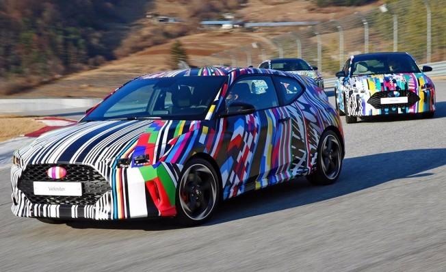 Hyundai Veloster 2018 - foto espía