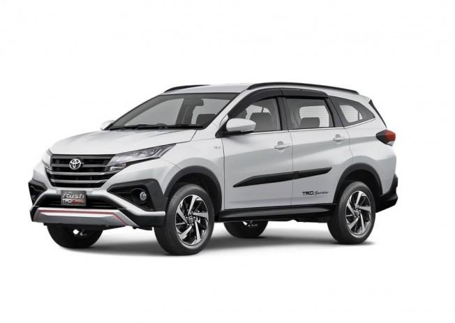 Toyota Rush 2018 el gemelo del nuevo Daihatsu Terios se