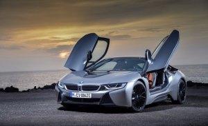 BMW presenta en en el Salón de Los Ángeles un mejorado i8 Coupé