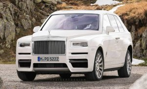 Rolls-Royce Cullinan: aproximación al diseño definitivo del nuevo SUV