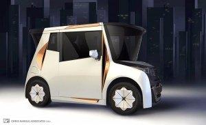 Redspace: el coche eléctrico creado por el ex-Jefe de Diseño de BMW