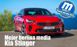 Mejor berlina media 2017 para Motor.es: KIA Stinger